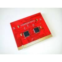 PCI POST карта с текстовым оповещение, анализатор