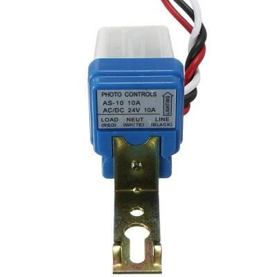 Фотореле, датчик вмикання вуличного освітлення 12В