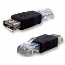USB A Female to Ethernet RJ45 адаптер-перехідник
