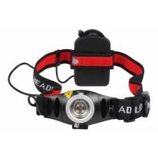 Налобний ліхтар, ліхтарик, фара CREE Q5 LED 500 лм