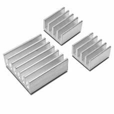 10x Алюминиевый радиатор 9х9х5мм для Raspberry PI