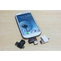OTG micro USB / USB - microSD TF кардридер 2 в 1