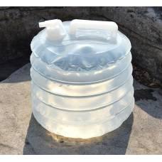 15 литровый складной бак для пищевых продуктов, воды, пива