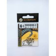 Крючок Scorpion MARUSEIGO-R №6