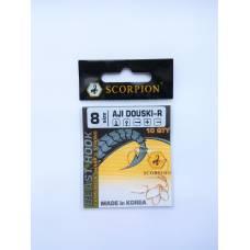 Крючок Scorpion AJI DOUSKI-R №8 (золоті)