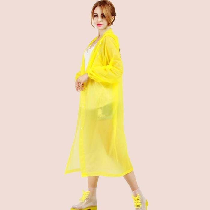 красивый и прочный плащ-дождевик для женщин украина