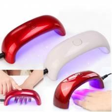 УФ-лампа для нарощування гелевих нігтів, сушка, міні-лампа