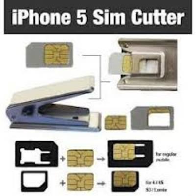Обрезчик сим-карты для iPhone 4/4S/5