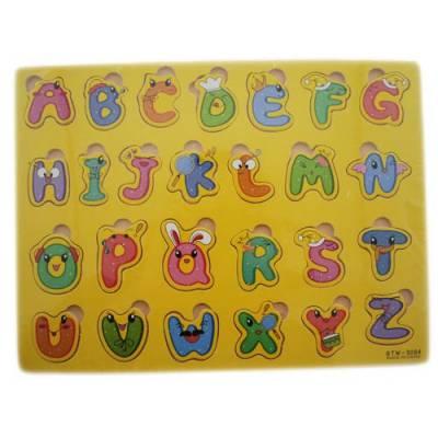 Обучающая деревянная доска Сегена, рамки вкладыши, англ. алфавит новый дизайн