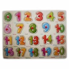 Обучающая деревянная доска Сегена, рамки вкладыши, цифры