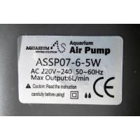Компрессор двухканальный с регулятором ASSP07-6-5W  2*3 л/мин.