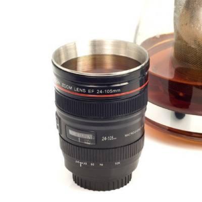 Чашка термос об'єктив Canon 24-105mm гуртка бленда