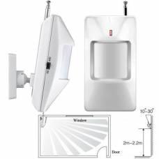 Беспроводной ИК датчик движения PIR 433МГц для GSM-сигнализации