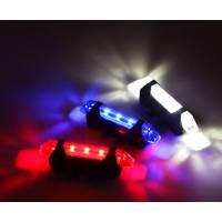 Габаритные огни Rapid X зарядка от USB, красные