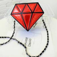 Женская сумка бриллиант, алмаз, драгоценный камень, кавайная сумочка
