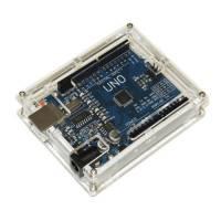 Корпус, кейс для Arduino Uno R3, прозорий