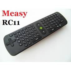 Measy Air mouse RC11 русская клавиатура, пульт к смарт ТВ
