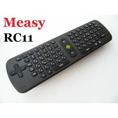 Measy Air mouse RC11 русская клавиатура, пульт к смарт ТВ