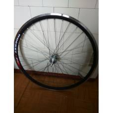"""Переднее колесо для велосипеда на промподшипниках 26"""" под V-brake"""