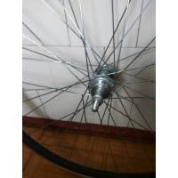 Колесо 26 капля AL (подвійний обод) AL втулка  для велосипеда на промпідшипниках  заднє