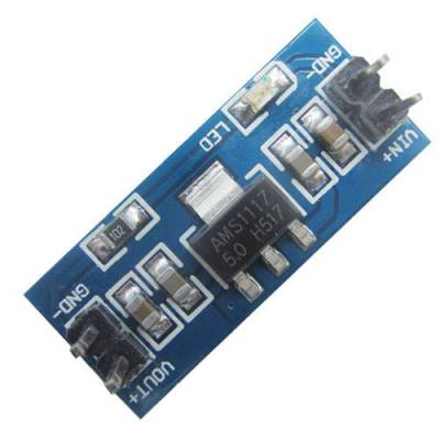Понижающий преобразователь напряжения DC-DC AMS1117 6-12В на 5В Arduino