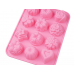 Силиконовая форма для выпечки пироженного и приготовления мыла