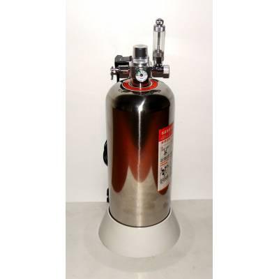 DIY CO2 генератор Сталевий баллон 4л Електромагнітний клапан