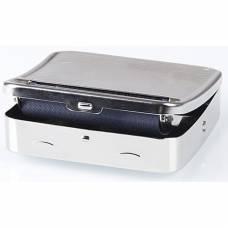 Машинка для скручивания сигарет с хранилищем сигаретной бумаги Gizeh Rollbox