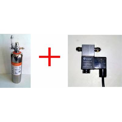 Сталевий DIY CO2 генератор + ЕМК