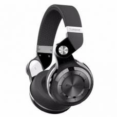 Бездротові Bluetooth навушники гарнітура Bluedio T2 + MicroSD FM чорні