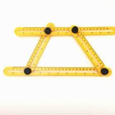 Измерительный инструмент Угол Изер  четырехсторонний шаблон. Шаблометр.