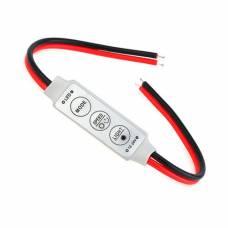 Контроллер диммер 1к LED лент, 12-24В, 6А