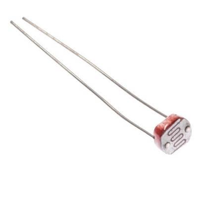 Фоторезистор, датчик освещенности 5мм GL5516 5516 для Arduino