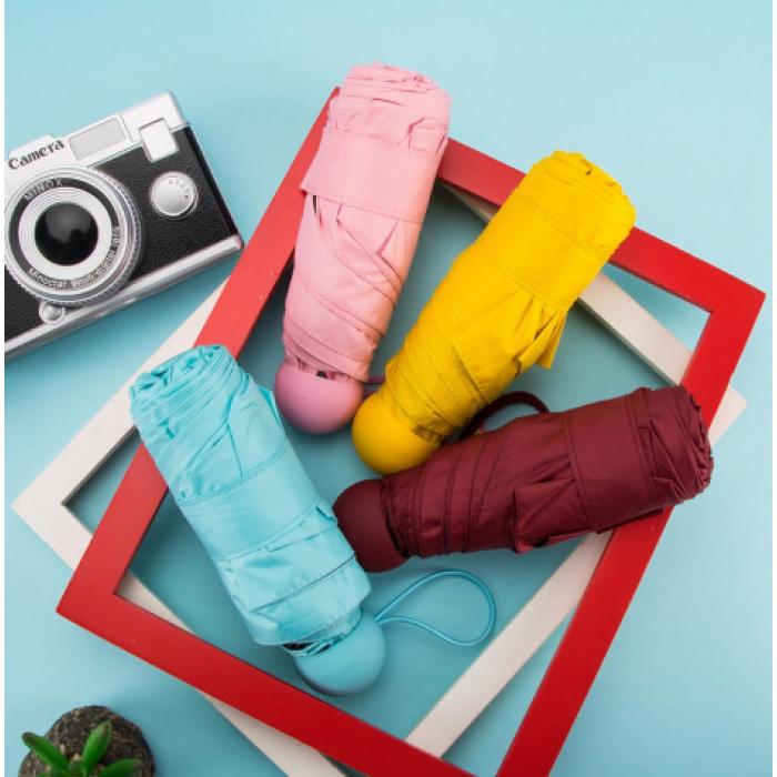красивые и недорогие капсульные зонтики из китая