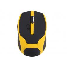 10М 2.4 бездротова оптична мишка миша жовта