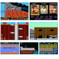 Игровая мини приставка консоль Dendy 8бит AV-выход 91игра
