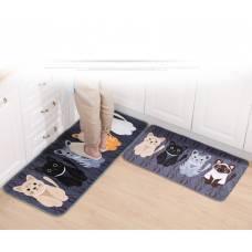 """Гарний килимок на кухню або ванну вітальню """"кішки"""""""