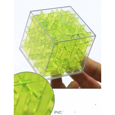 Лабіринт куб 3D 6х6х6см