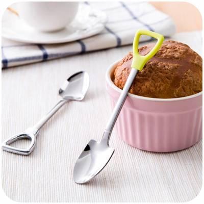 Стильная ложка для размешивания чая или кофе, йогуртов или кормления детей - S