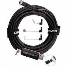 5м USB / microUSB камера HD 2MP 8.5мм бороскоп, ендоскоп
