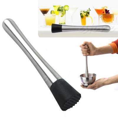 Мадлер толкушка товкач для коктейлів мохіто бару, нержавіюча сталь
