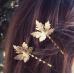 Красивый зажим для волос, заколка, стильное украшение