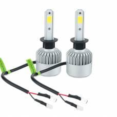 Лампи світлодіодні автомобільні Partol H1 P14.5S 12В 72Вт  8000лм