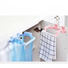 Тримач пакетів, рушники, рукавичок з кріпленням в дверцята кухні