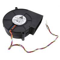 97мм 12В 4пин вентилятор центробежный улитка турбина кулер ЧПУ, сервера