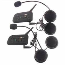 Мотогарнитура Bluetooth 3.0 гарнитура на шлем, интерком V6-1200