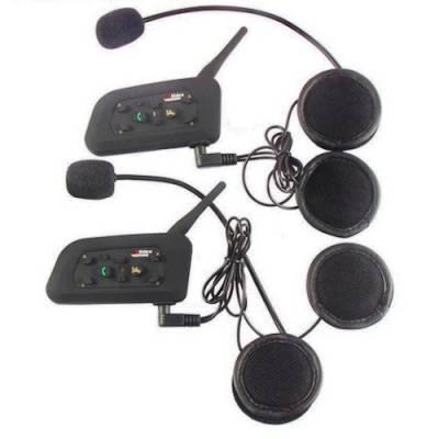 Мотогарнитура Bluetooth 3.0 гарнітура на шолом, інтерком V6-1200