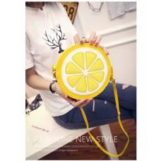Сумка лимон, лимонная сумка желтая сумка