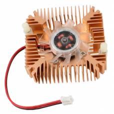 55мм 12В 2пін вентилятор з радіатором, кулер VGA