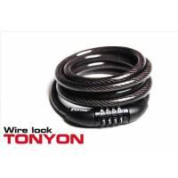 Кодовый велозамок TONYON TY532 , 1.2 м